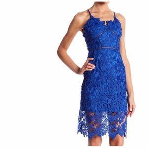 Love...Ady in blue lace dress